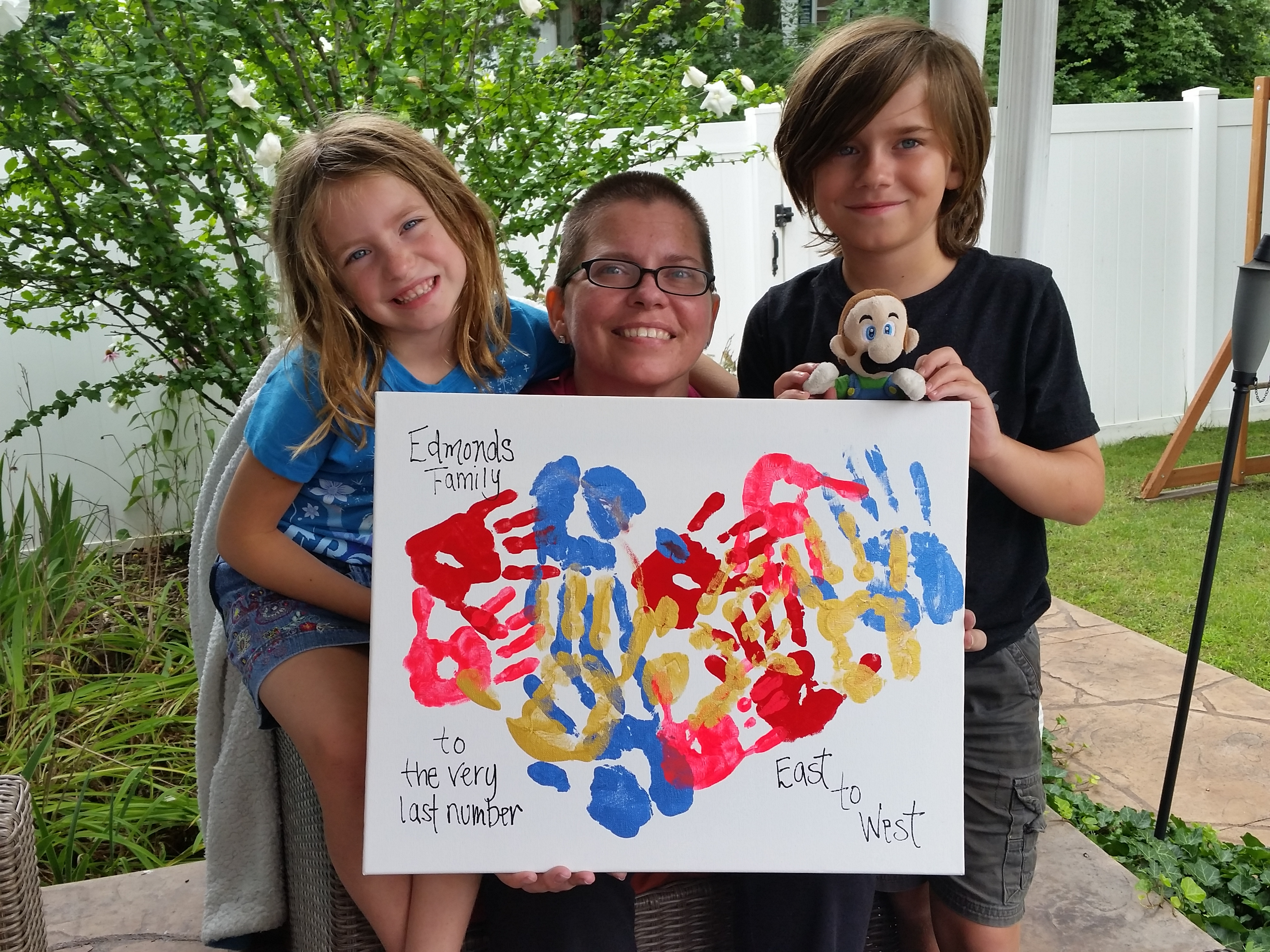 edmonds family with horizons painting