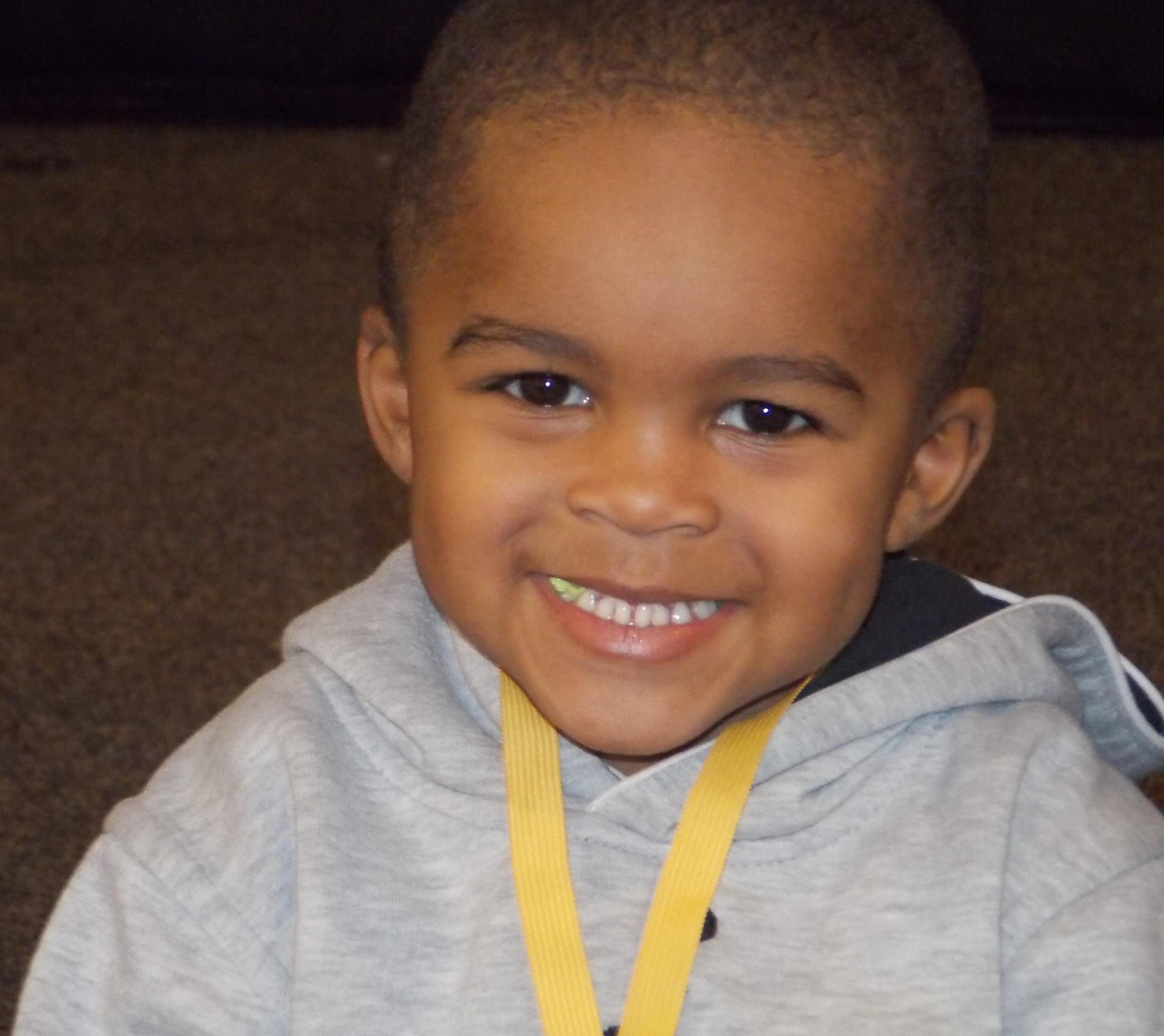 preschooler at FSG